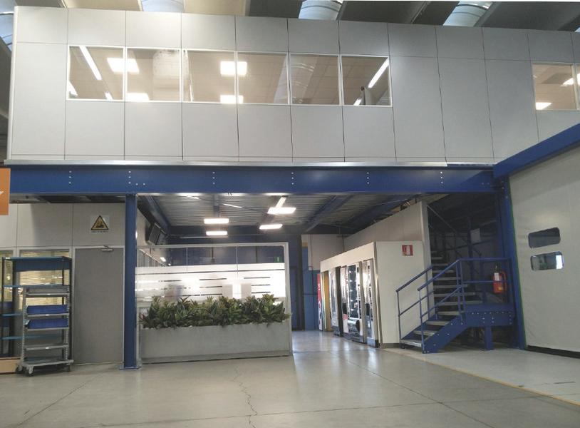 Soppalchi industriali ad uso ufficio soppalchi industriali for Piani di capannone per uffici esterni